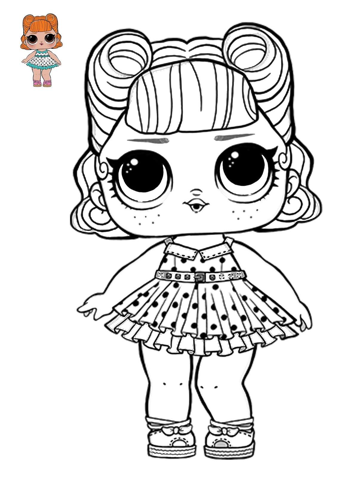 Belajar menggambar dan mewarnai LOL Surprise (1) | IqbalNana