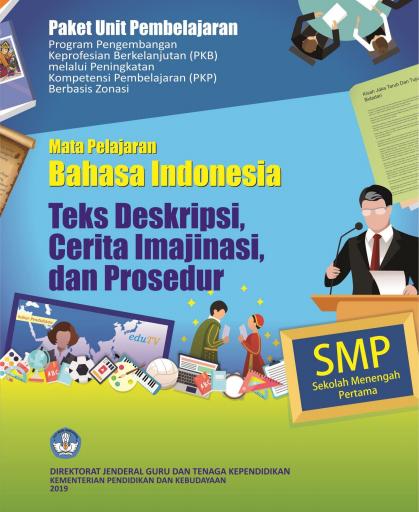 Materi PKP Bahasa Indonesia Guru SMP Tahun 2019-2020
