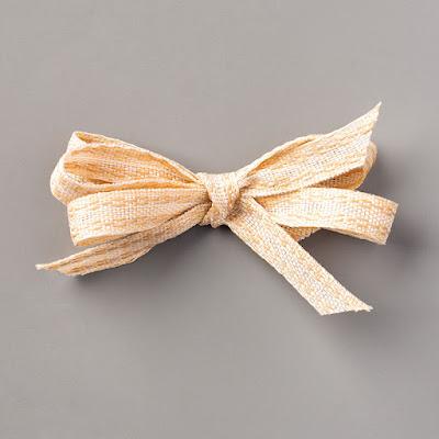 embroidered ribbon, natural ribbon, fall, stampin' up!, holiday mini catalog, paper crafts, stamping, craft supplies, stampin' up! demonstrator