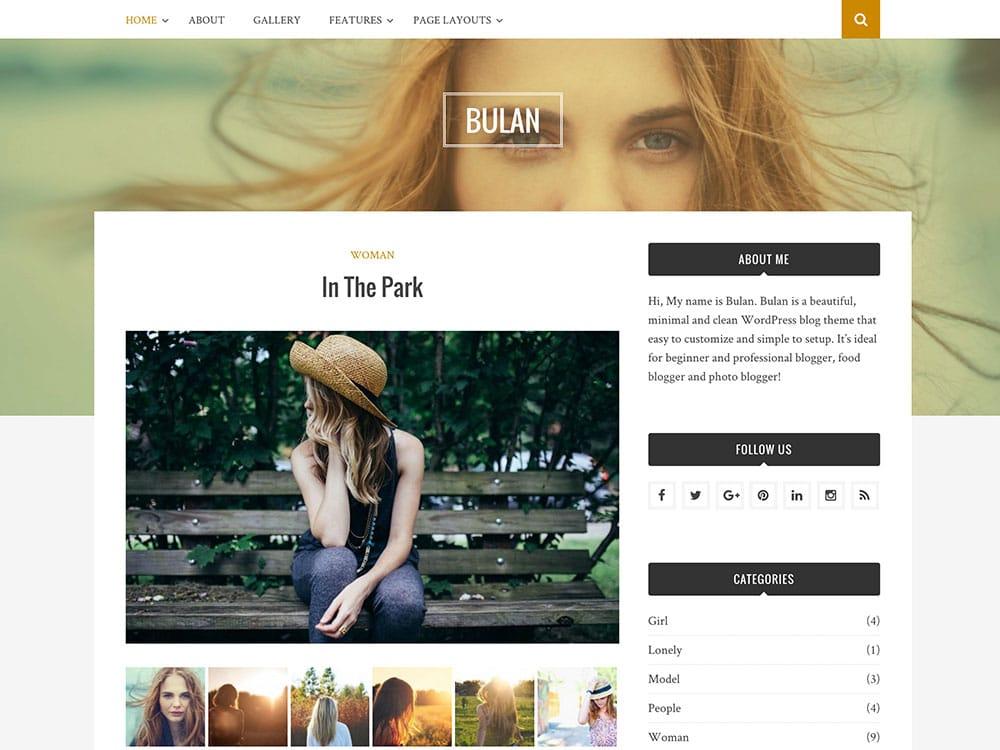 WordPress Ücretsiz Kişisel Blog Teması İndir