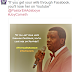 """If you get a wife through Facebook, you will lose her through YouTube"" -  Pastor Adeboye says, Nigerians react"