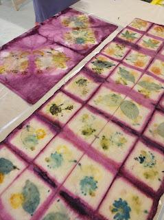 ecoprinting ecopritn indaco shibori corso corsi tintura naturale stampa vegetale colori naturali corsi
