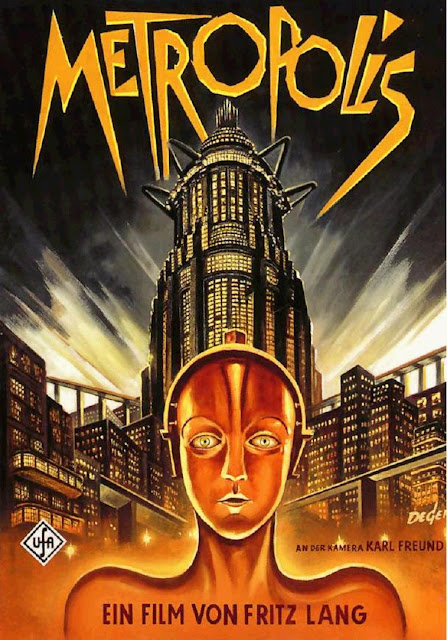 Portada Metropolis 1927