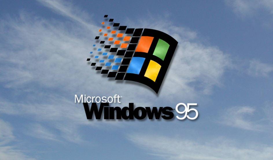 Windows 95 on Windows 10