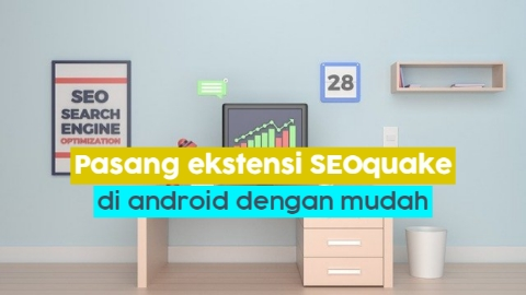 Instal seoquake di android