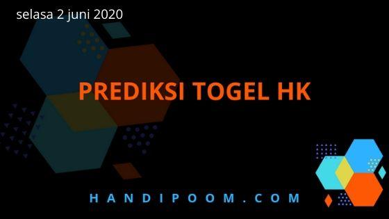 angka jitu Hk selasa 2 juni 2020