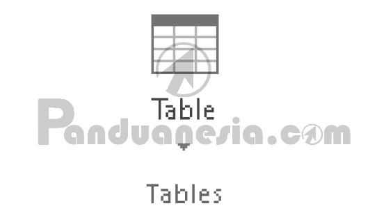Fungsi Icon Table