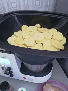 recette de cuisses de poulet pommes de