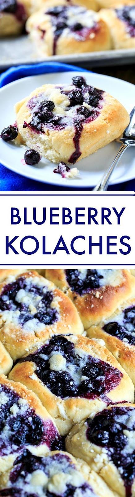 Blueberry Kolaches