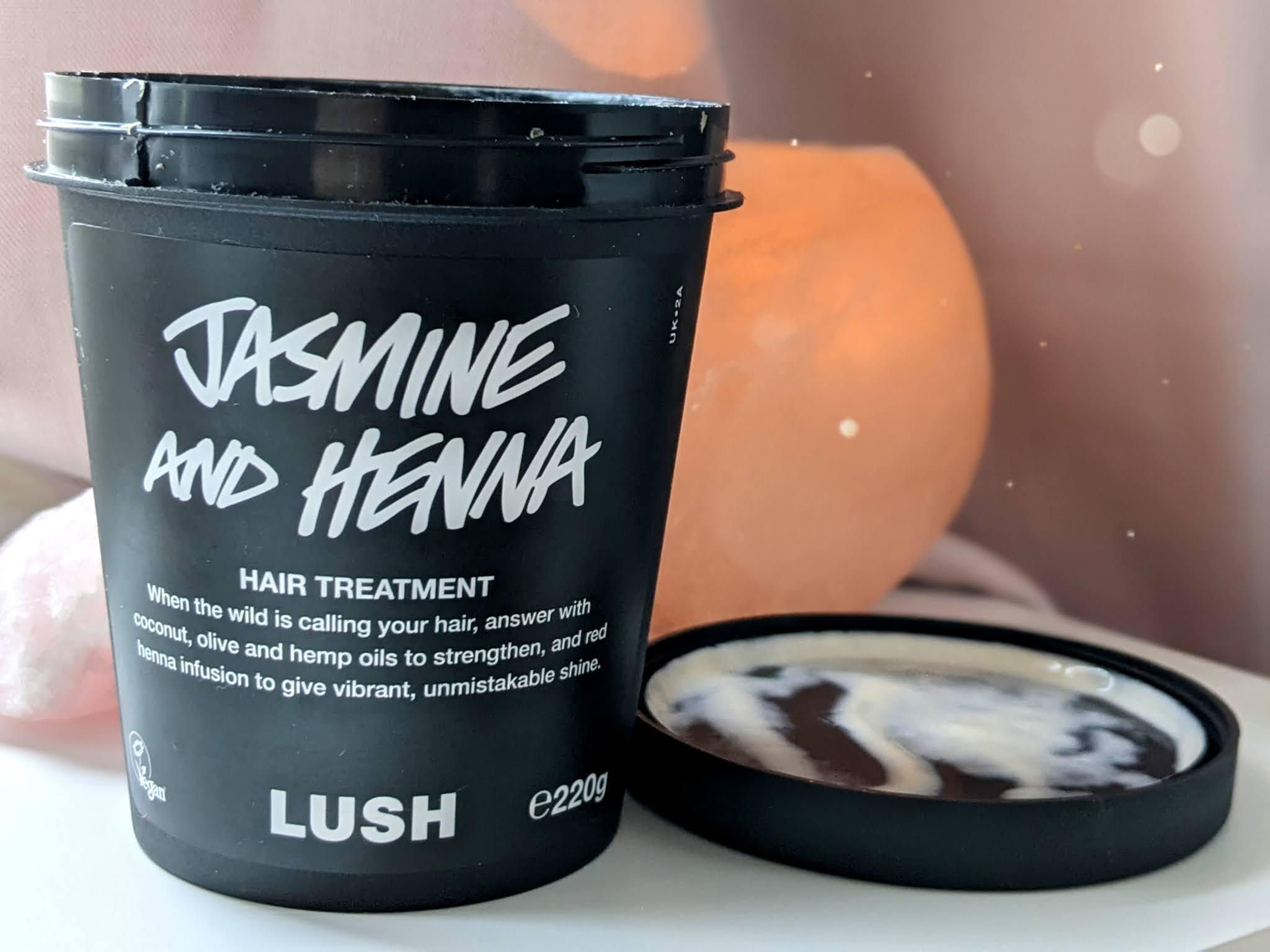 Vegan cruelty free beauty skincare favourites doodleheart.co.uk veganuary Lush Jasmine and henna