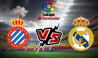 إسبانيول و ريال مدريد بث مباشر