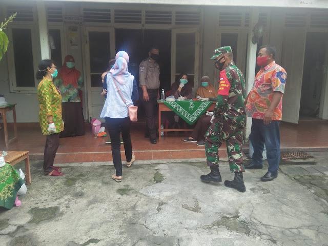 Babinsa Koramil Klaten utara Laksanakan pendampingan Posyandu