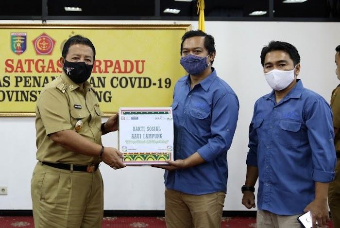Gubernur Arinal Apresiasi Kontribusi BUMN, OJK, dan Asosiasi Asuransi dalam Percepatan Penanganan Covid-19