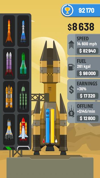 Rocket Sky! v 1.3.9 b140 apk mod MELHORIAS GRATUITAS