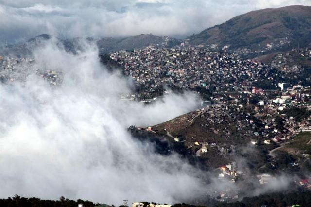 Baguio City Temperature Drops to Lowest This Year