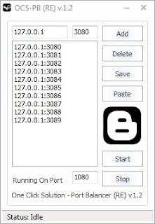 Download Aplikasi One Click Solution Port Balancer OCS-PB (RE) v1.2