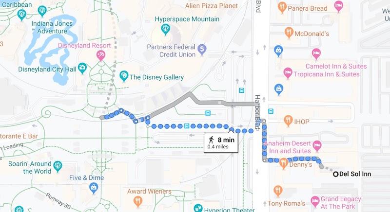 Del Sol Inn, Anaheim (across Disneyland!!!!)