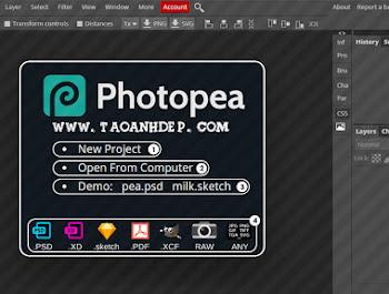 Photoshop Online - Công cụ chỉnh sửa ảnh trực tuyến
