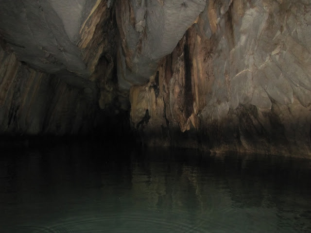 underground river cave puerto princesa philippines palawan