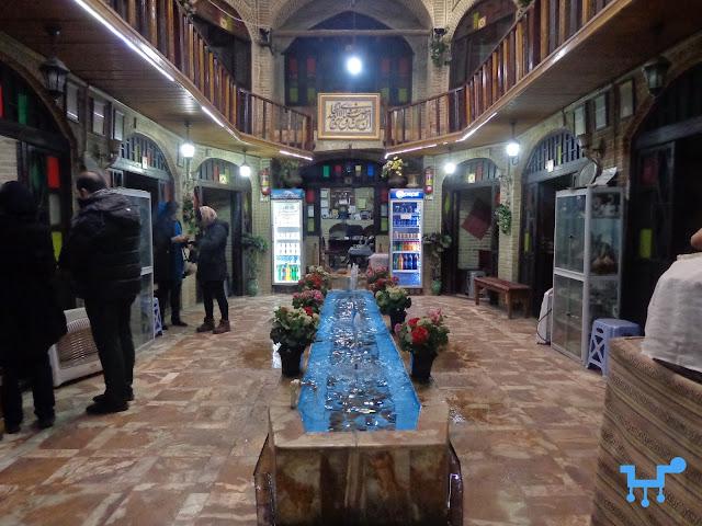 Timcheh Akbarian, First bank of Iran, Oudlajan, Tehran, Iran
