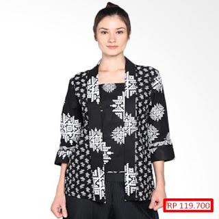 desain baju batik modern wanita