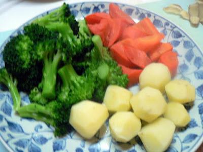チーズフォンデュ野菜