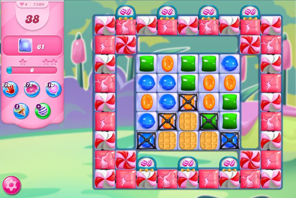 Candy Crush Saga level 7506