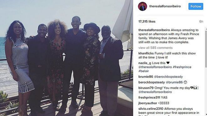 Will Smith reunites with Fresh Prince of Bel-Air pals