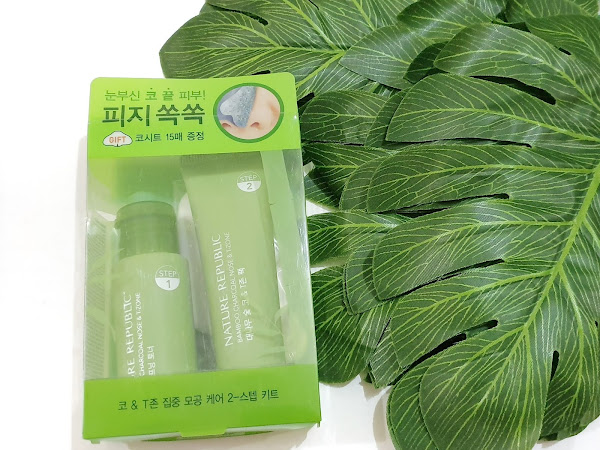Review Natur Republic Bamboo Charcoal Nose and T-Zone