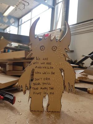 Carmen Wing: Whoopidooings blog: Wood Carving & Pyrography Monster - Blue October Lyrics