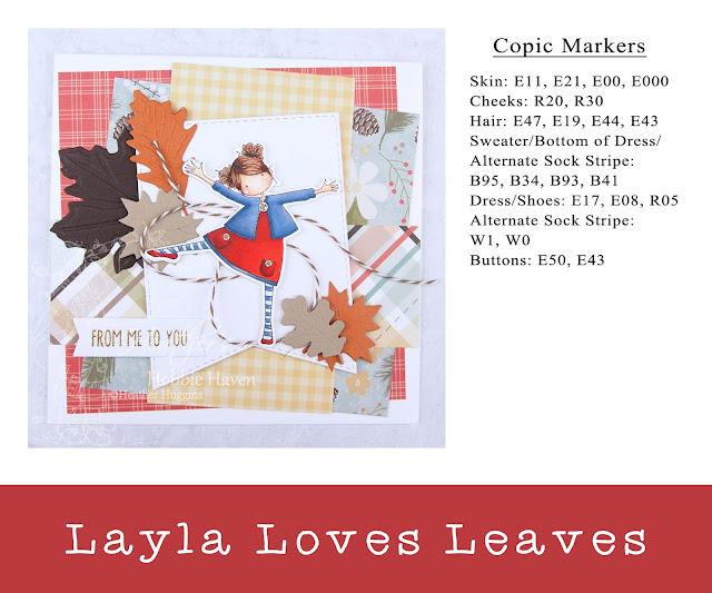 Heather's Hobbie Haven - Layla Loves Leaves Card Kit