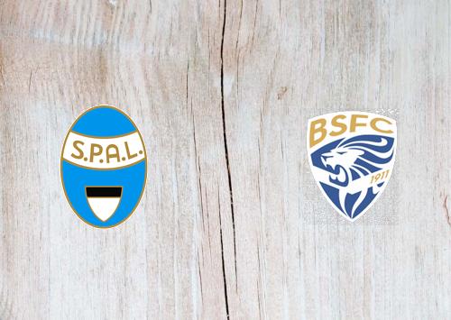 SPAL vs Brescia -Highlights 8 December 2019
