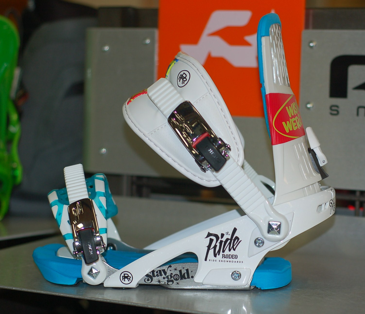 Alpine Ski Shop Daily Drops: Ride Rodeo Snowboard Bindings