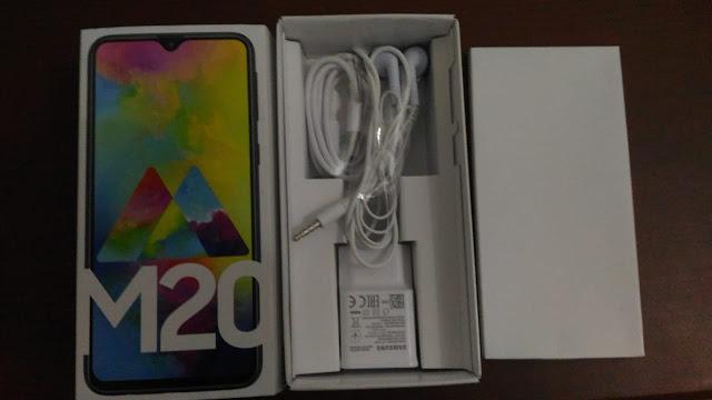 "Review Lingkungan ""Samsung Galaxy M20"""