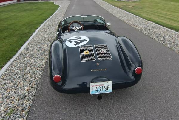 1955 Porsche 550 Beck Spyder For Sale Buy Classic Volks