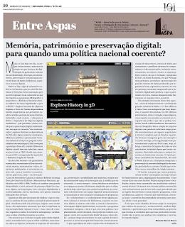 Memória, património e preservação digital: para quando uma política nacional coerente?