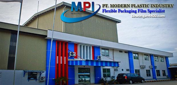 Lowongan Cikarang PT Modern Plastic Industry