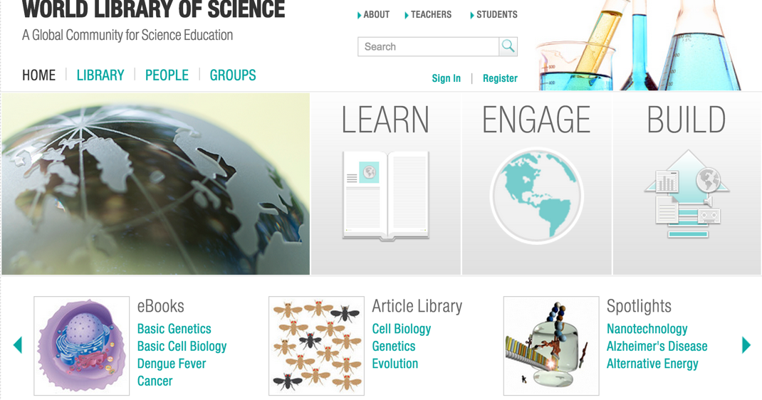 World Library of Science- A Very Good Resource for Science Teachers