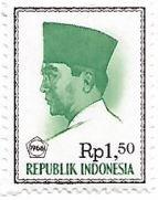 Presidente Sukarno, 1,5 Rupia