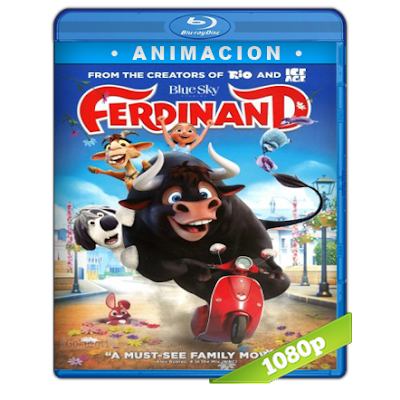 Ole El Viaje De Ferdinand (2017) BRRip Full 1080p Audio Trial Latino-Castellano-Ingles 5.1