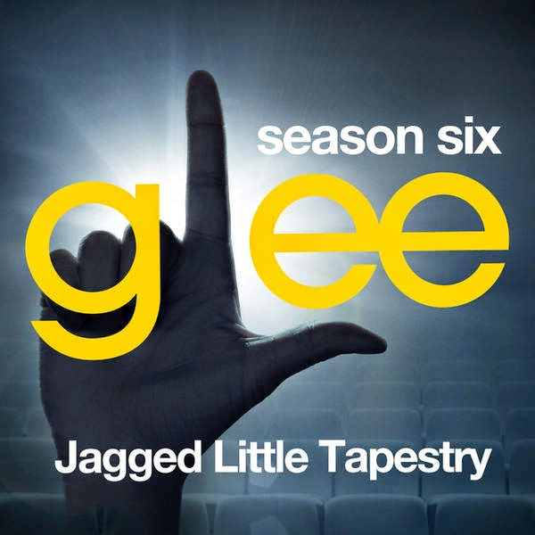 Glee Cast – Glee: The Music, Jagged Little Tapestry – EP Cover