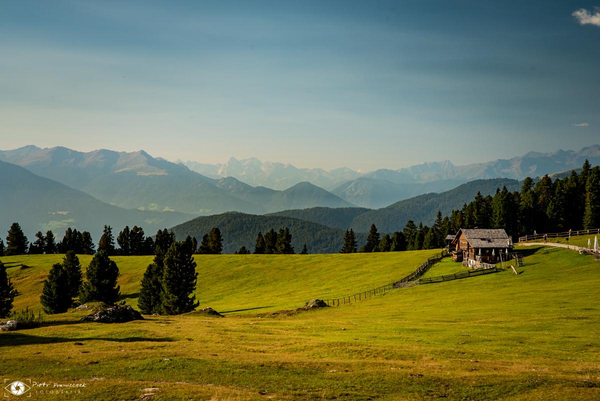 Geisler Alm Dolomity Szlaki