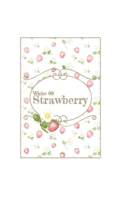 Strawberry/White 09