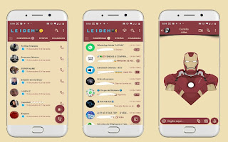 Iron Man Theme For YOWhatsApp & Fouad WhatsApp By Leidiane
