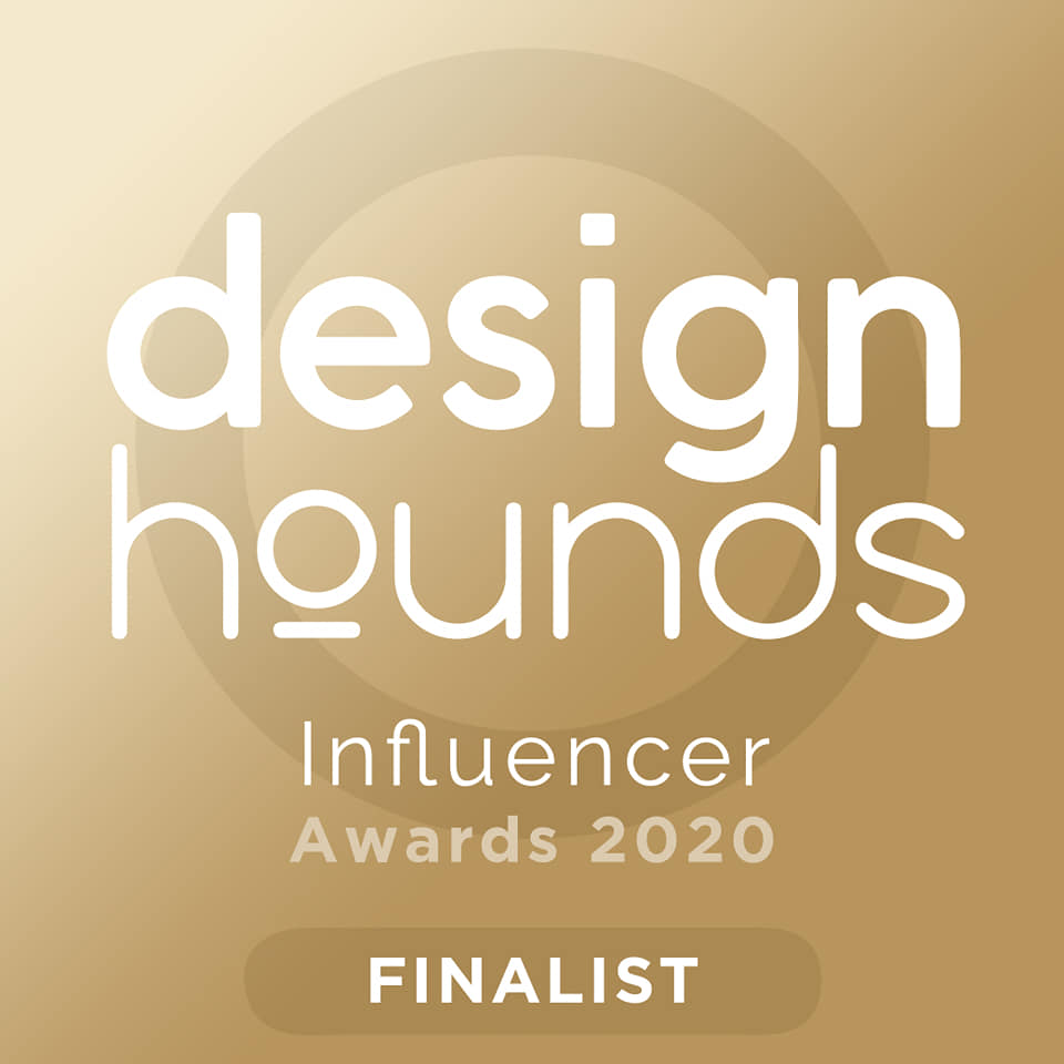 We are Finalists in the Designhounds Design Influencer Awards!