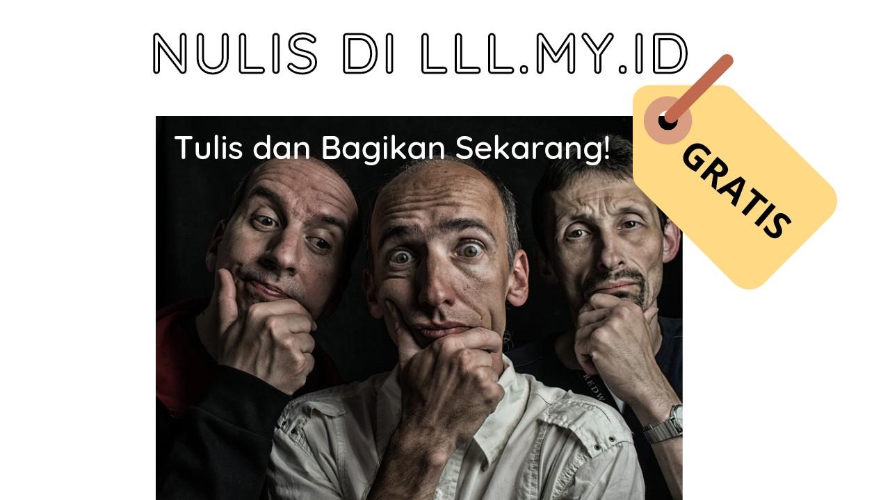Nulis di LLL.my.id - GRATIS