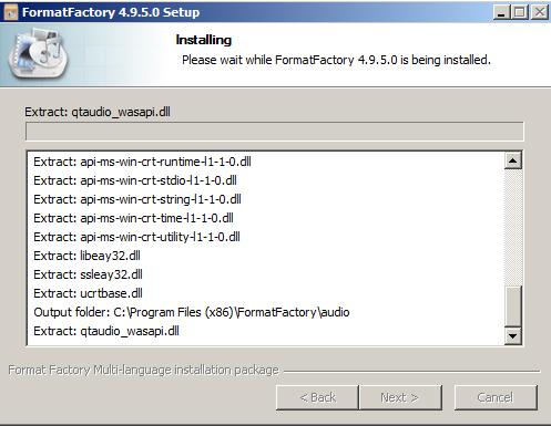 Hướng dẫn cách cài đặt Format Factory nhanh Trên PC Win 7 c