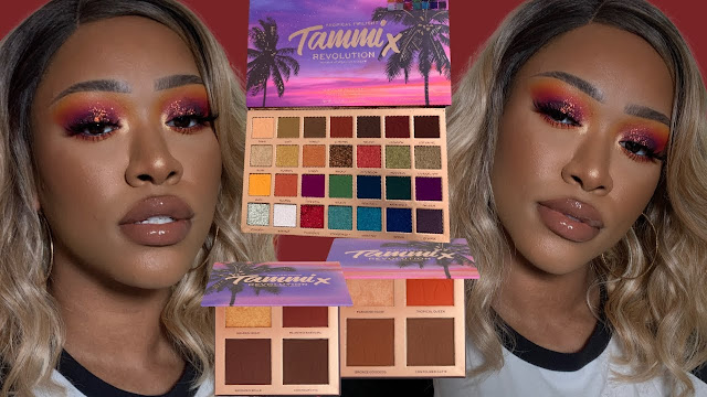 Makeup Revolution x Makeup by Tammi Tropical Twilight Collection