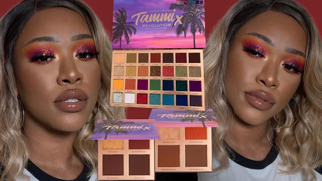 Makeup Revolution x Makeup by Tammi Tropical Kolekcja Twilight