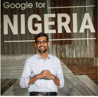 Google CEO Sundar Pichai, unveils his plan to make Internet work better and empower Nigerians (photos, details)